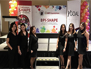 OMG at BPI Shape Event